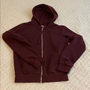 Divided H&M Hooded Jacket Dark purple XS size